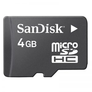 4gb memory Card with 100 songs 399