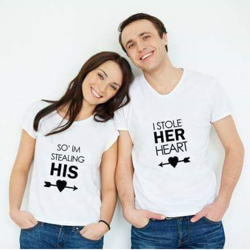 Pack of Two Couple T Shirts 999