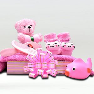 Pretty In Pink Baby Gift Hamber 3499
