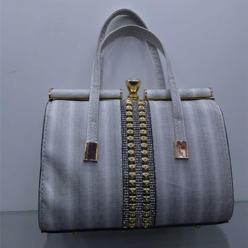 Silver Color Hand bag for Leady 999