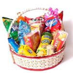 Sweet And Salty Treat   Gift Basket