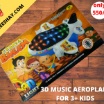 3D PLANE | WITH MUSIC TOY FOR TODDLERS