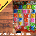 MAGENTIC ENGLISH LETTERS FOR KIDS LEARNING MINI