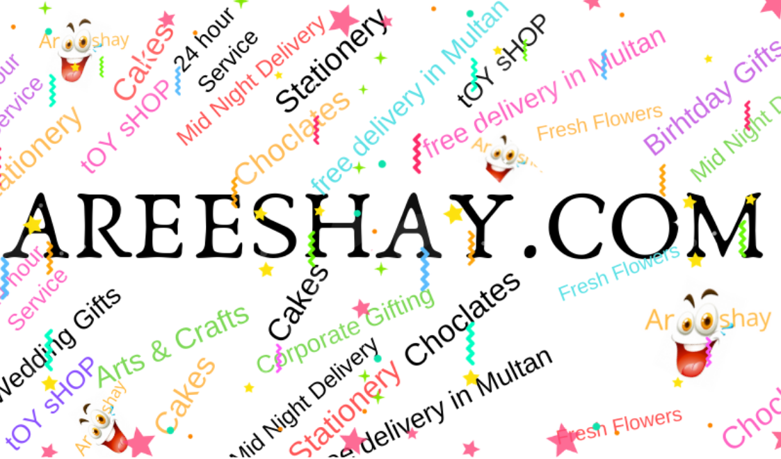 Send Gifts to Pakistan   Areeshay.com